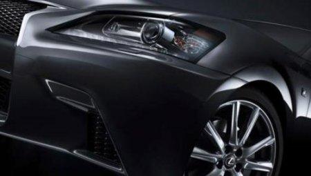 Lexus опубликовала первые тизеры гибридной модификации GS F-Sport 2013