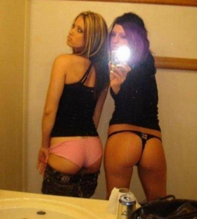 Зеркальные девушки