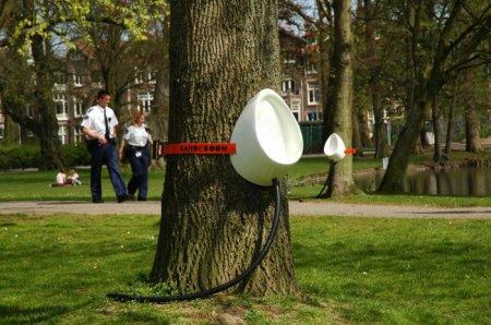 Чтоб на деревья не писяли