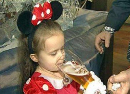 Пить в Минске начинают с детского сада