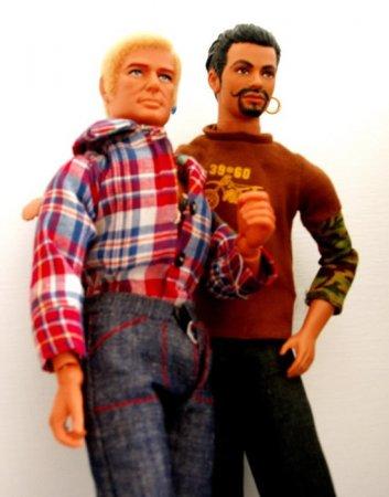 Голубой друг Кена. Барби рыдает
