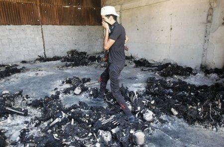Массовые казни противников Каддафи