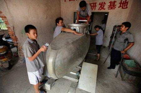 Самодельная китайская подлодка