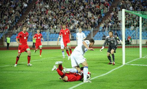 Беларусь уступила Боснии и Герцеговине