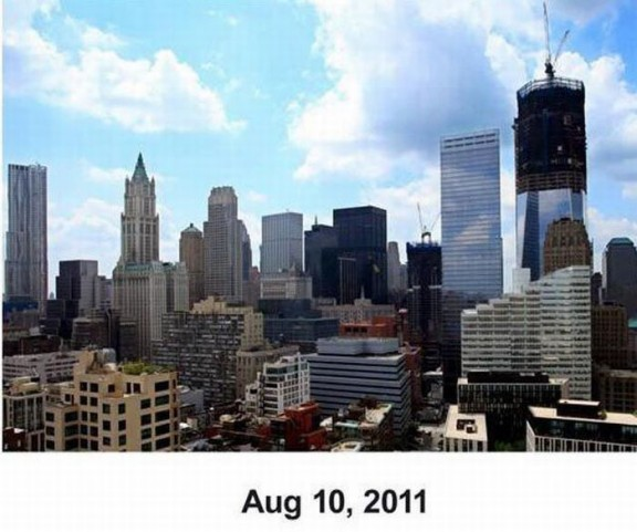 WTC - тогда и 10 лет спустя