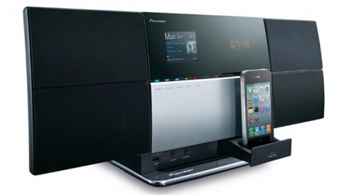 Pioneer анонсировала две AirPlay-Shelf системы