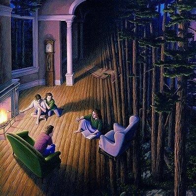 Роб Гонсалвес и его магический мир