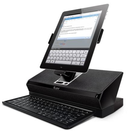 Док превращающий iPad2 в настольный компьютер