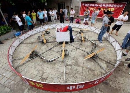 Китайская летающая тарелка