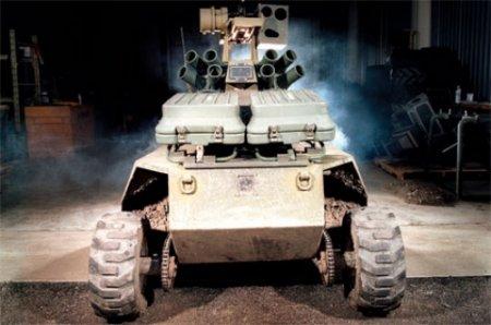 Боевые роботы - настоящие и из кино