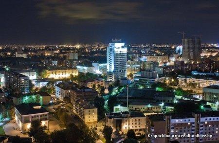 Фотофакты. Минский руфер сфотографировал город с крыши Royal Plaza