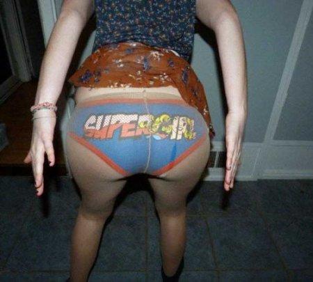 Супертрусы на суперпопках супердевушек