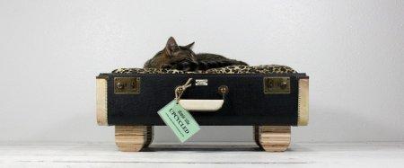 Винтажные домики для кошек