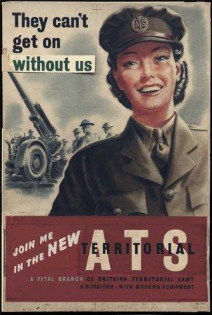 Английские плакаты времён Второй Мировой