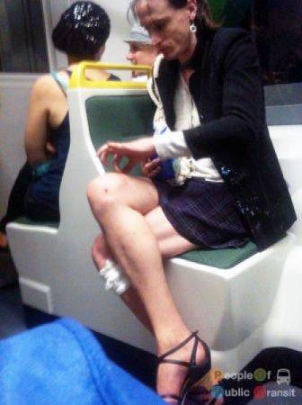 Фрики в метро