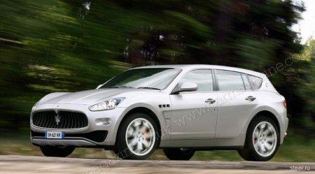 Первые изображения внедорожника Maserati