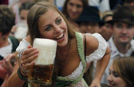 А в Мюнхене начался Октоберфест