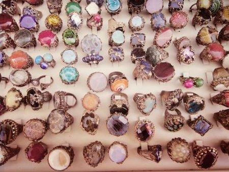 Красивые кольца для девочек