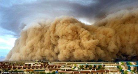 Пыльные бури по всему миру