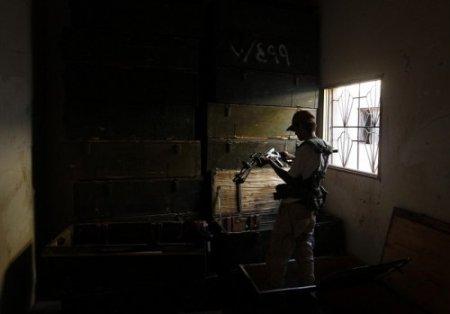 Захваченные склады оружия Каддафи