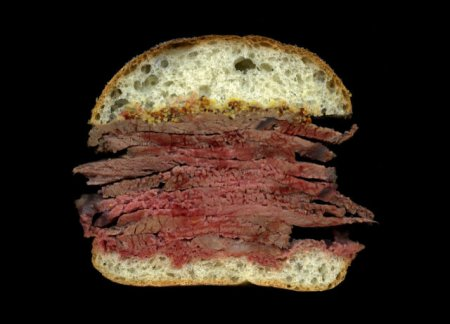 Сэндвичи в разрезе