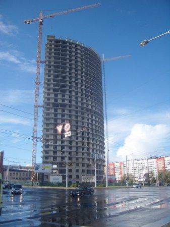 Однокомнатная квартира в небоскребе «Парус» стоит больше миллиарда рублей