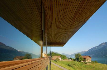 Walensee House – дом на берегу озера в Швейцарии