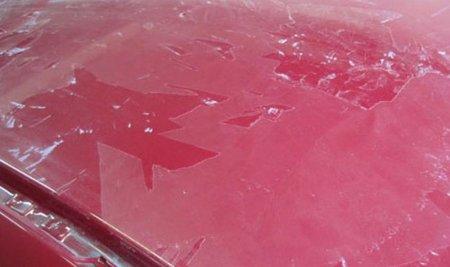 Последствия оклейки автомобиля пленкой