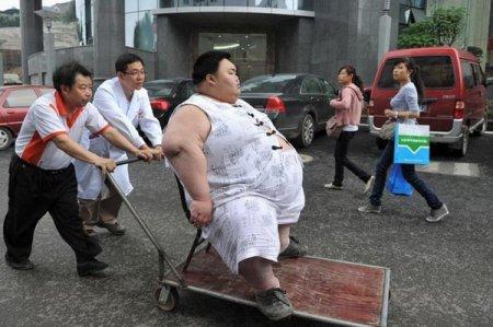 Самый толстый китаец в мире