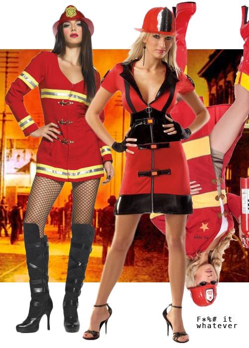 Девушки-пожарные