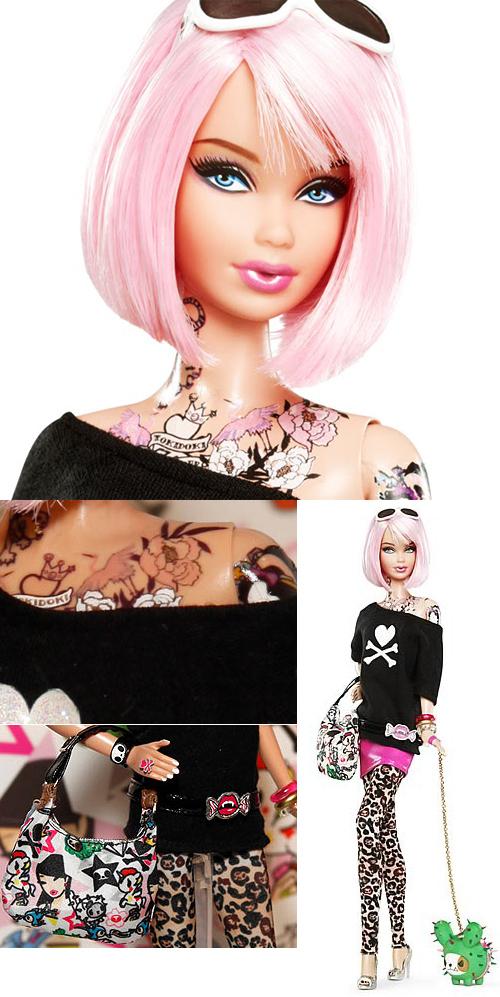 Татуированная хипстерша Барби