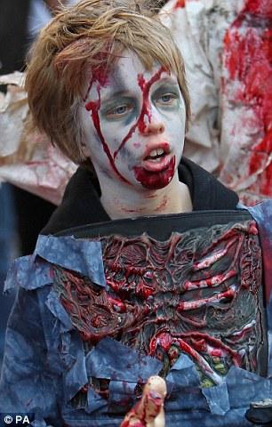 Зомби-парад в Брайтоне