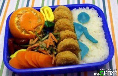 Приколы с едой