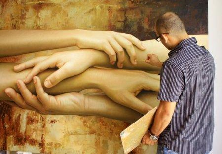 Реалистичное легкое НЮ мексиканского художника