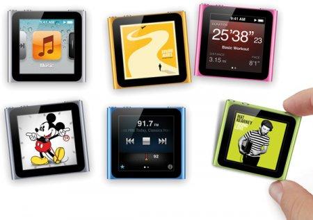 Обновленные iPod touch и iPod nano