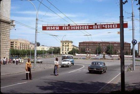 СССР из окна поезда в 1975 г.