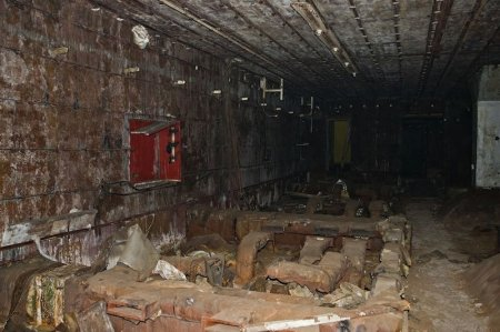 Заброшенный бункер в Беларуси