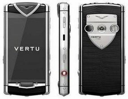 Vertu Constellation T первый сенсорный телефон от Vertu