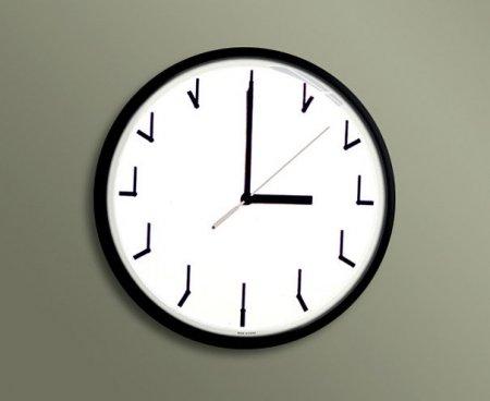 Необыкновенный дизайн настенных часов