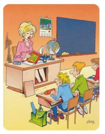 Карикатуры не для детей