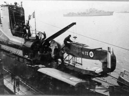 Подводная лодка Сюркуф