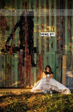 Необычные свадебные фотографии