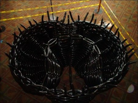Паук из шариков