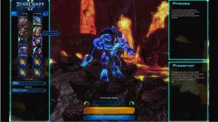 Время для демоверсии StarCraft Universe