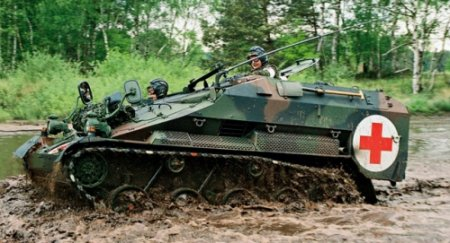 Танкетка Wiesel Combat Vehicle