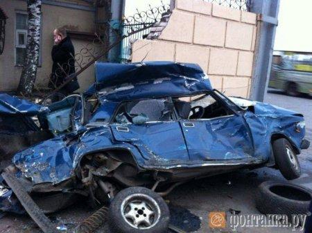Авария в Питере