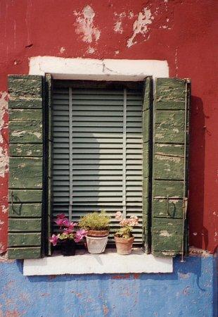 Греция: окна