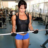 Диана Тюленева - сиськи и мышцы