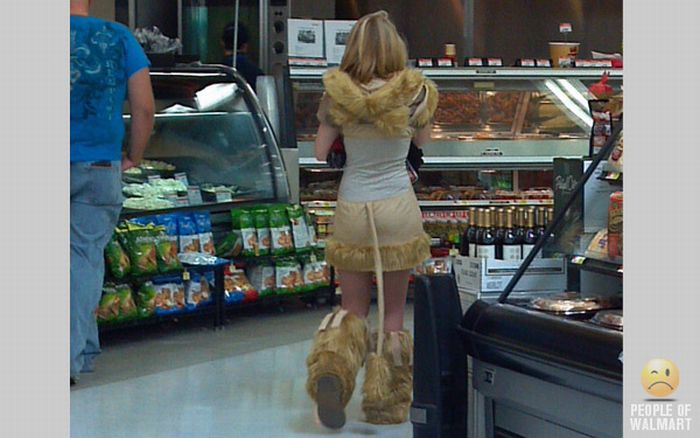 Странные посетители магазинов