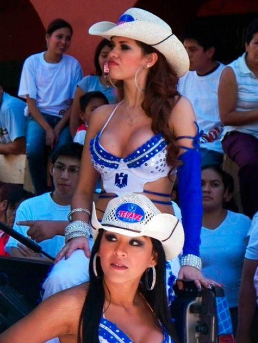 Мексиканские чирлидерши